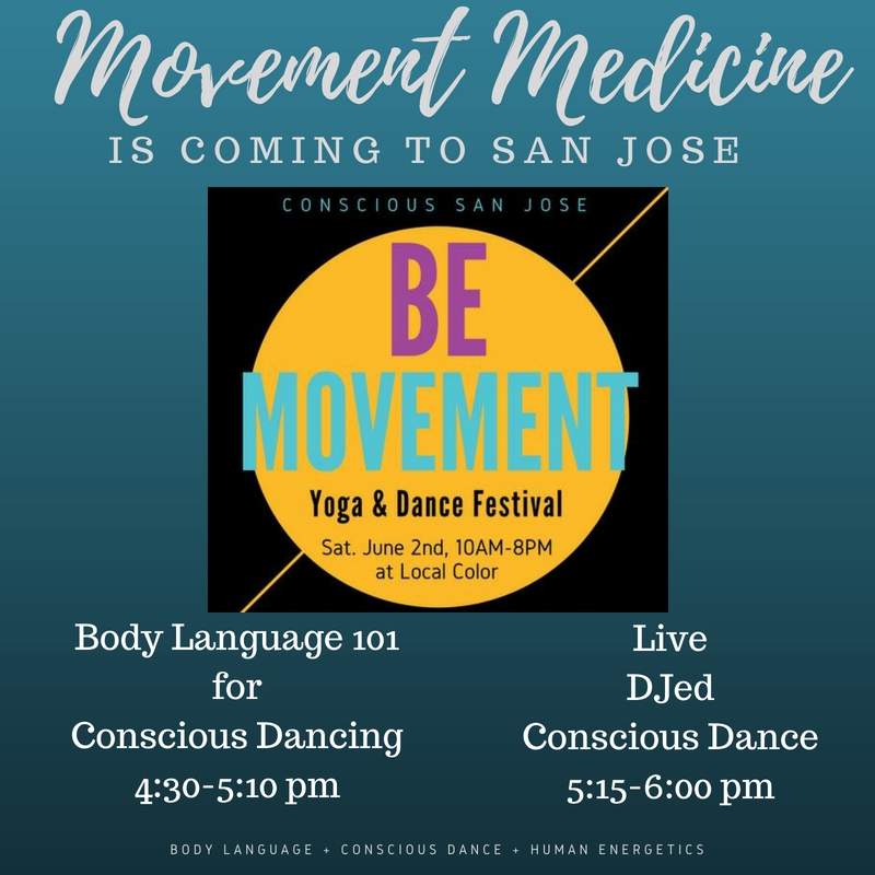 MMD is coming to San Jose & the Be Movement Festival