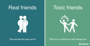 toxic vs. healthy